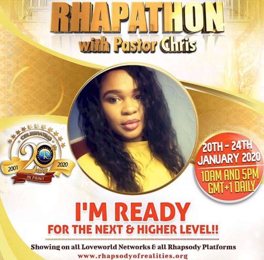 I'm ready!!