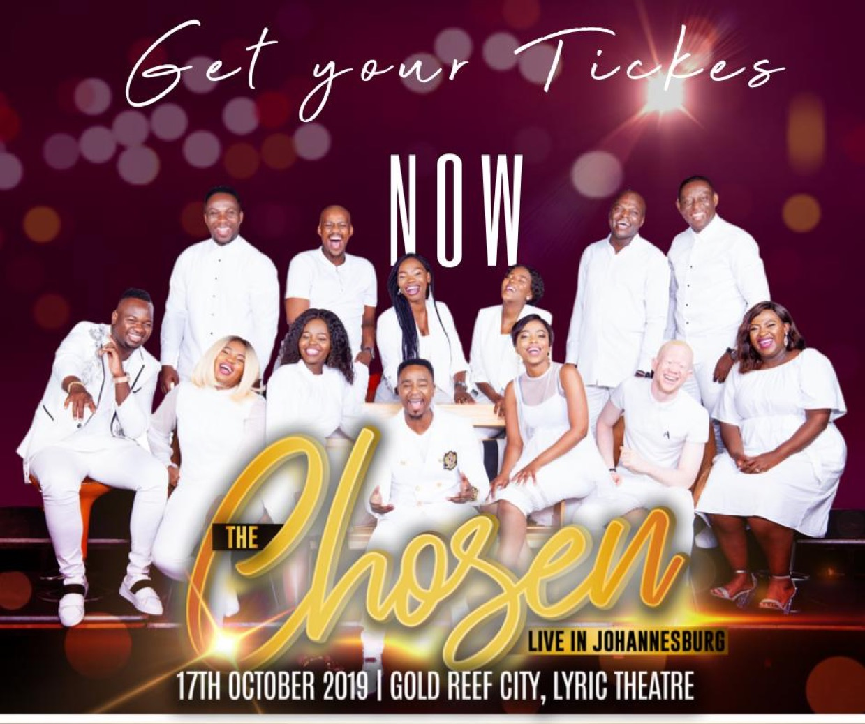 The Chosen Live In Concert💃