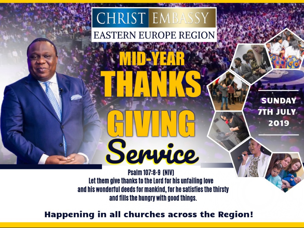 Mid Year Thanksgiving Service