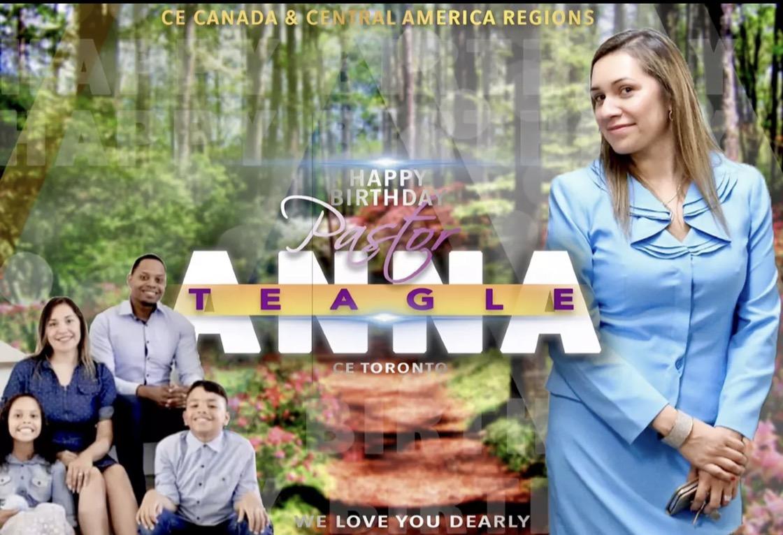 Happy birthday dear Pastor Anna!