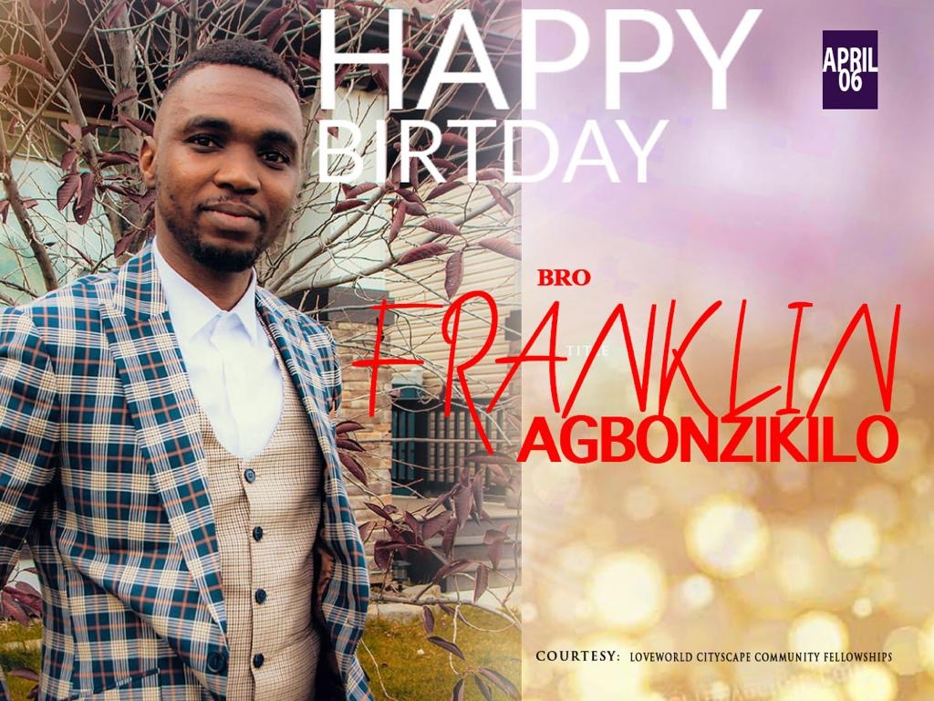 My dearest bro Franklin! Happy