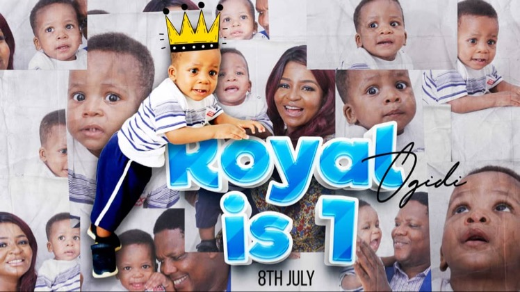 Hurray, today is Royal's birthday.