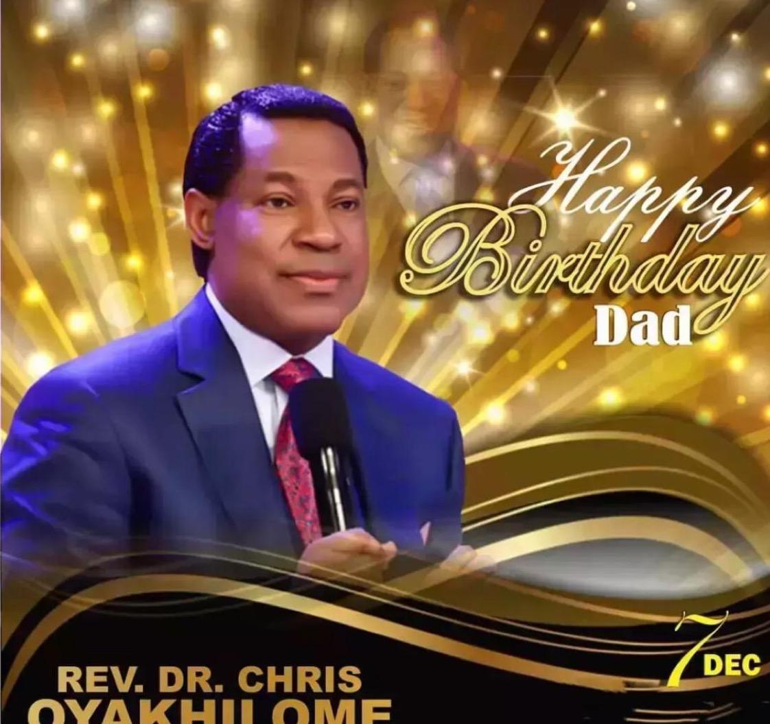 Happy birthday Pastor sir! You