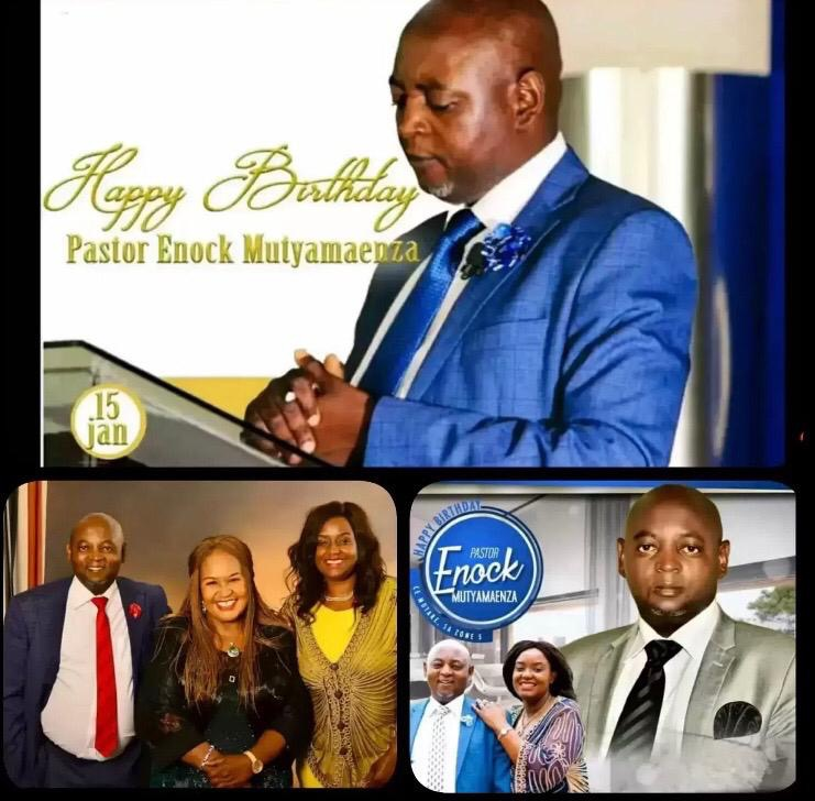 Happy Birthday Pastor Enock!!! Thank