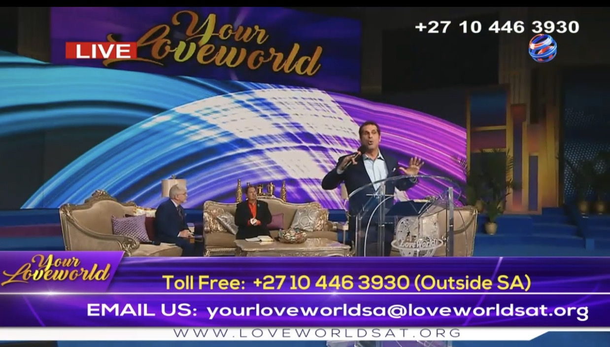 LIVE NOW: YOUR LOVEWORLD SPECIAL