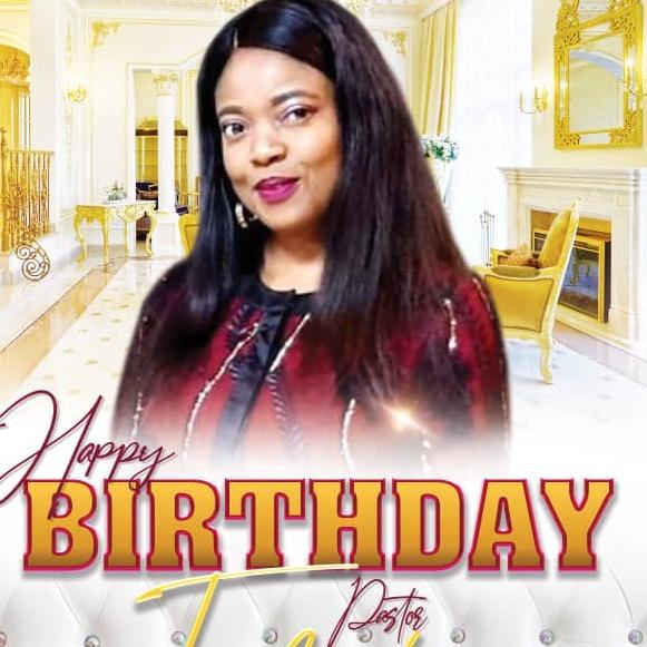 Happy birthday Esteemed Pastor Felicity