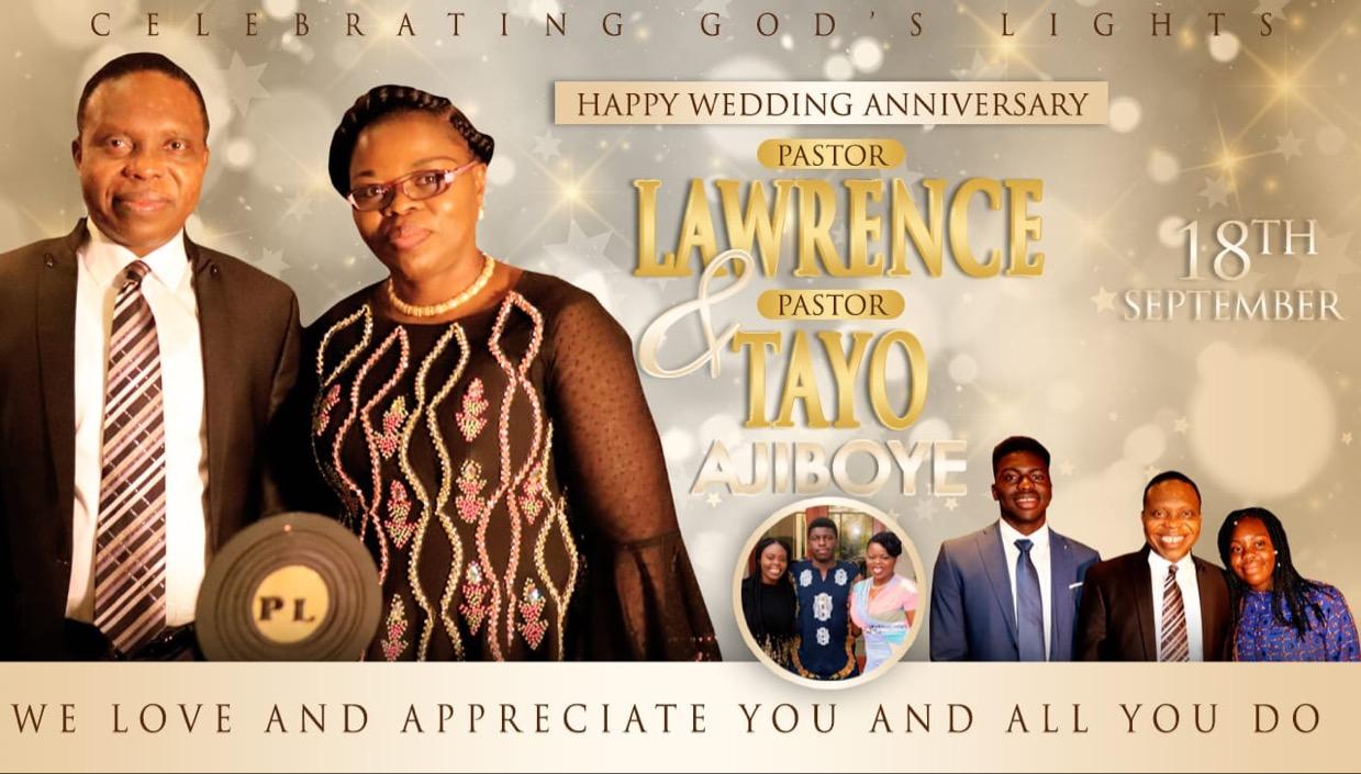 Happy Anniversary Pastors