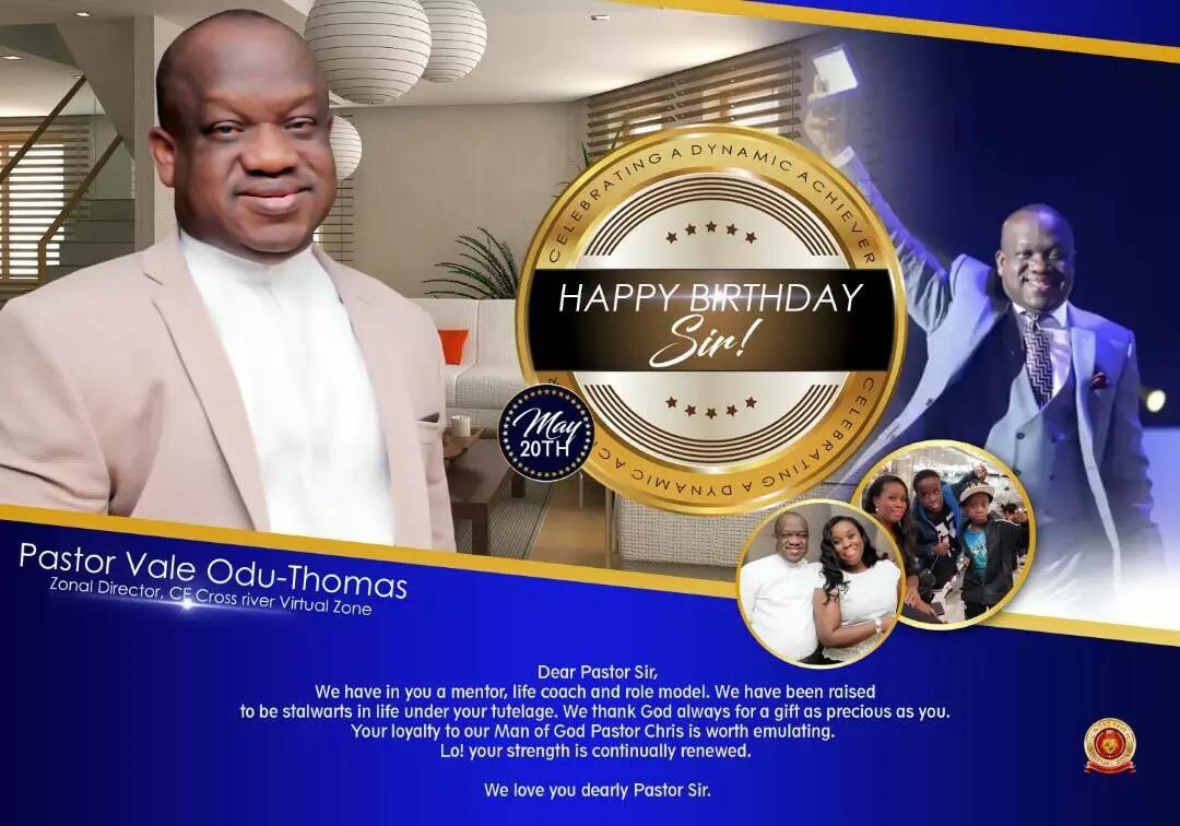 High Birthday Greetings Esteemed Pastor