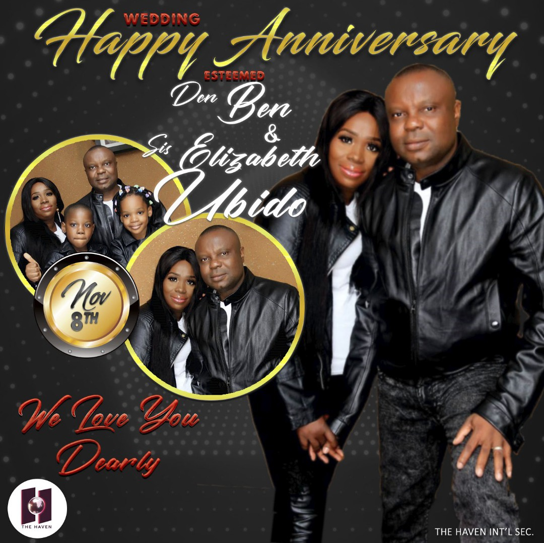 Happy wedding anniversary to a