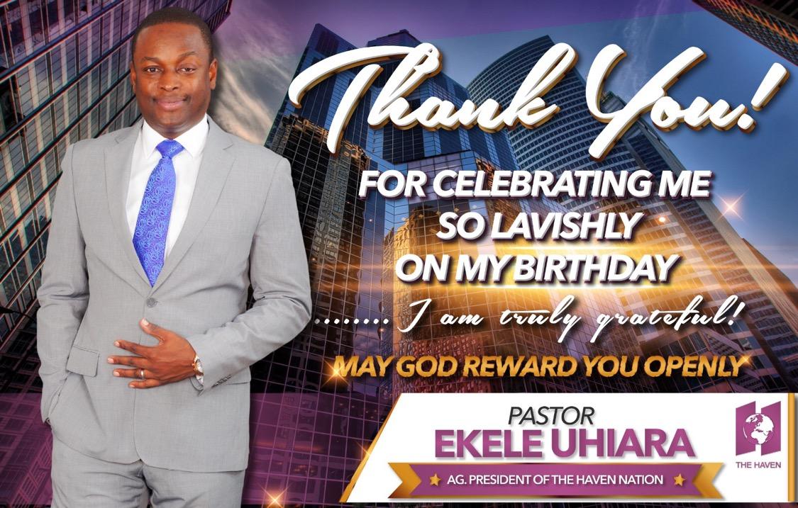 #PEU33 #TheHavenNation #PastorEkele