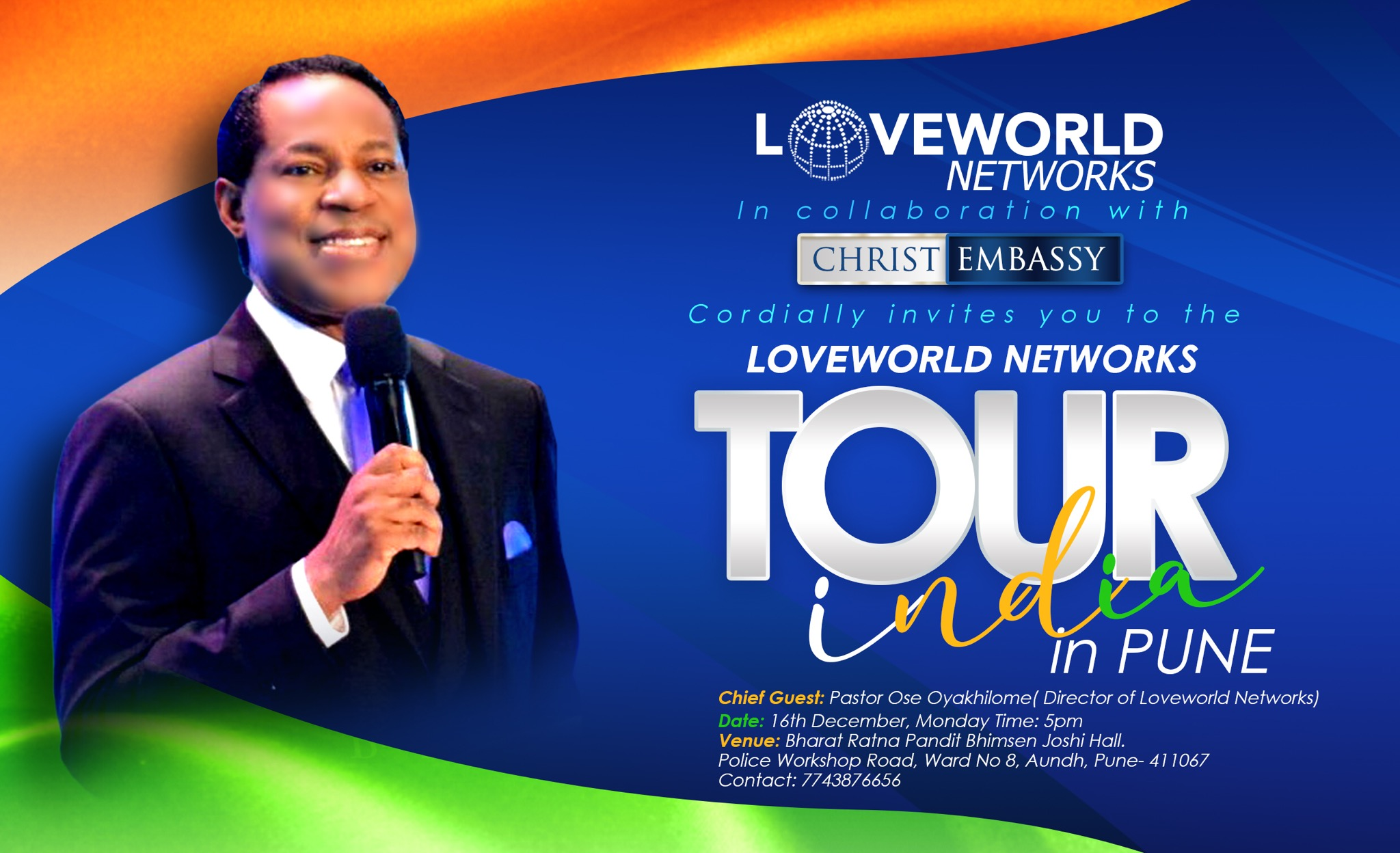 AND THE LOVEWORLD NETWORKS TOUR