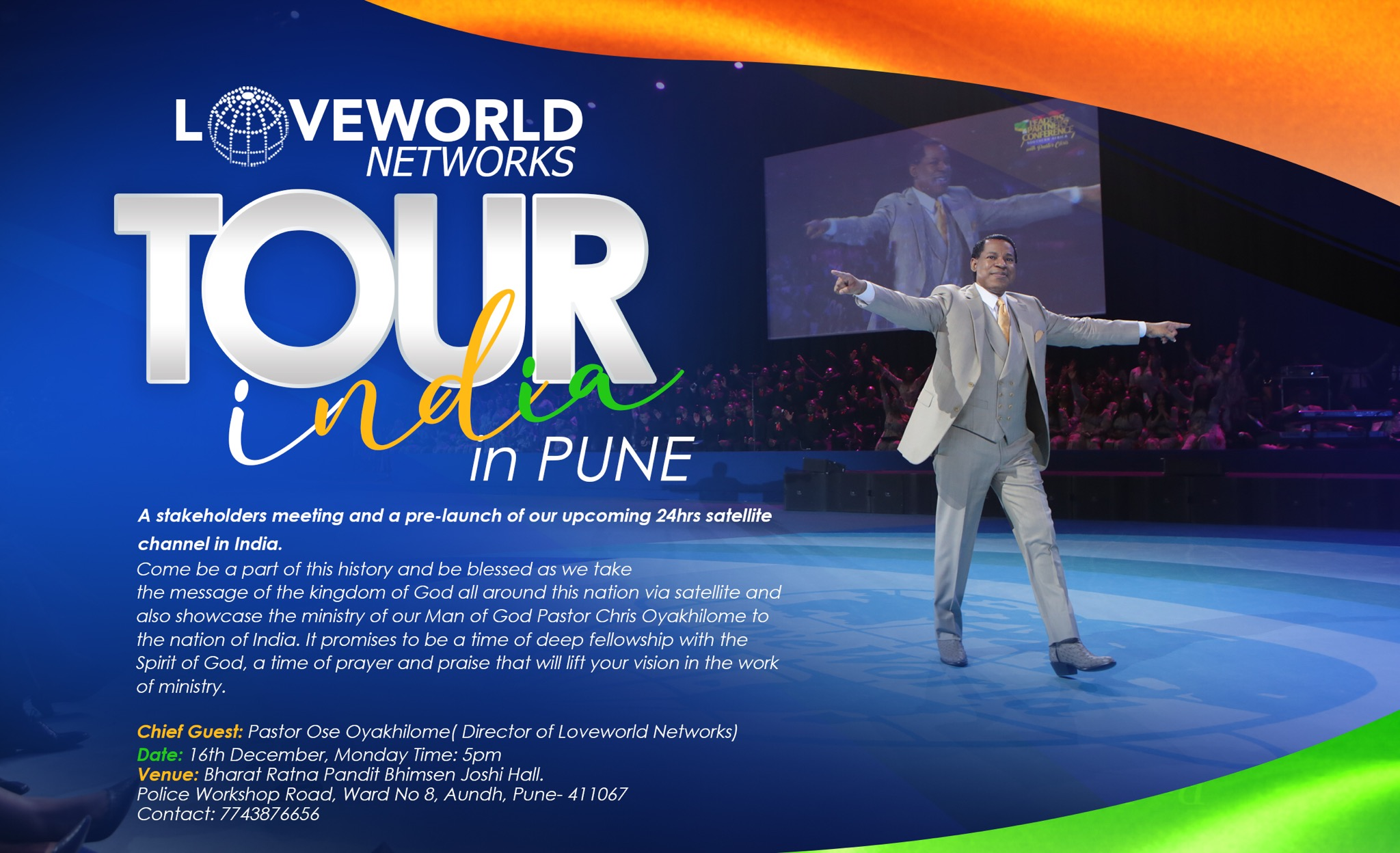LOVEWORLD NETWORKS TOUR IN PUNE,