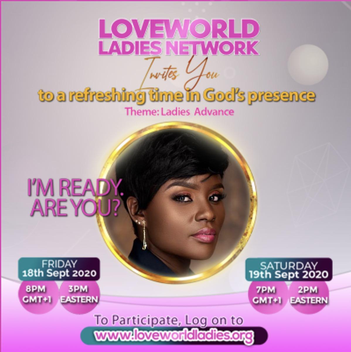 Loveworld Ladies Network Presents Ladies