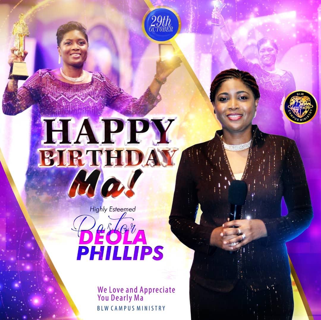 Happy Birthday Ma! A paragon