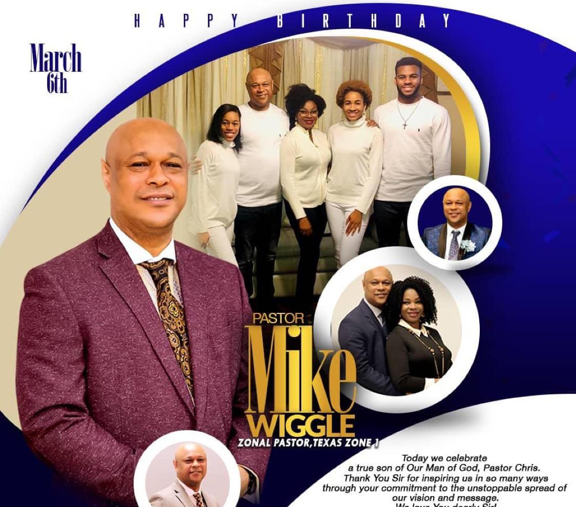 Happy Birthday Pastor Mike!! Wow,