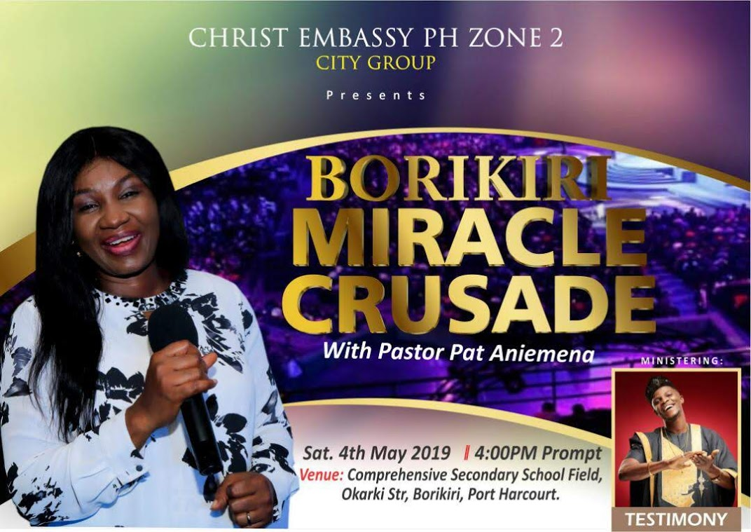 Get Ready Miracle Crusade #cecitygroup