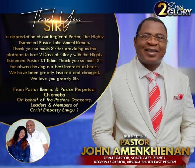Thank You Pastor John Sir!