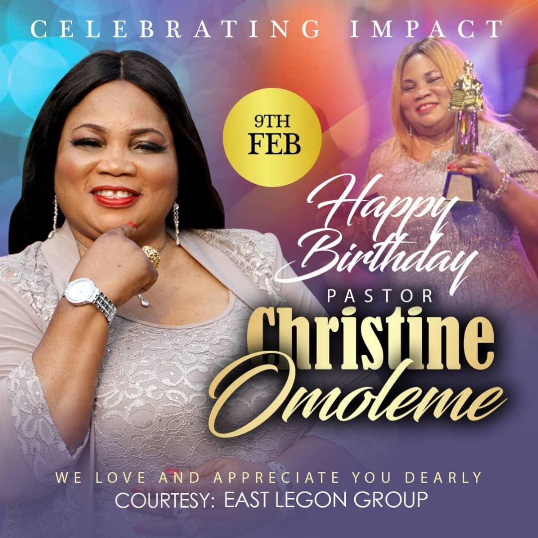 Happy Hapoy Birthday Pastor Ma'am
