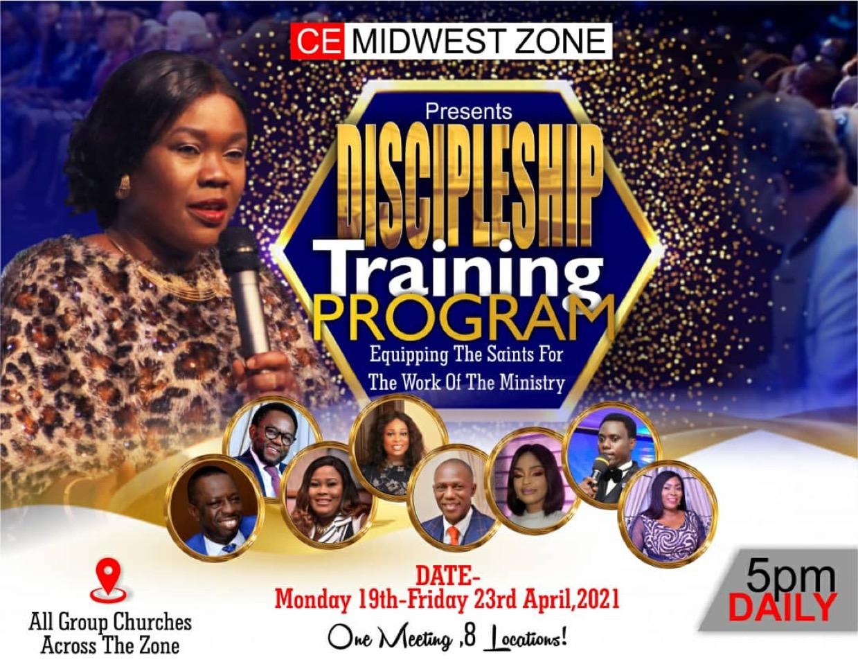 DISCIPLESHIP TRAINING PROGRAM ON MY