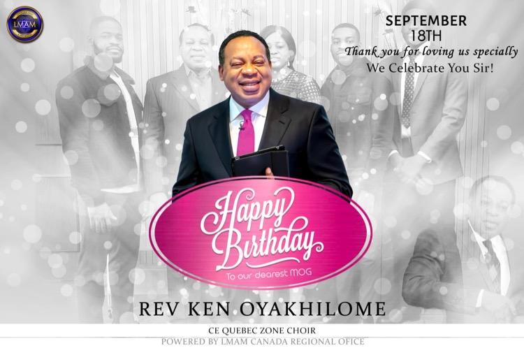 Celebrating My Special Dad❤️ #RevKen0918