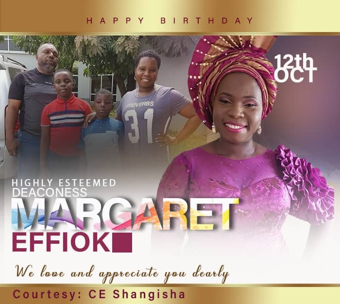 Birthday greetings to our highly
