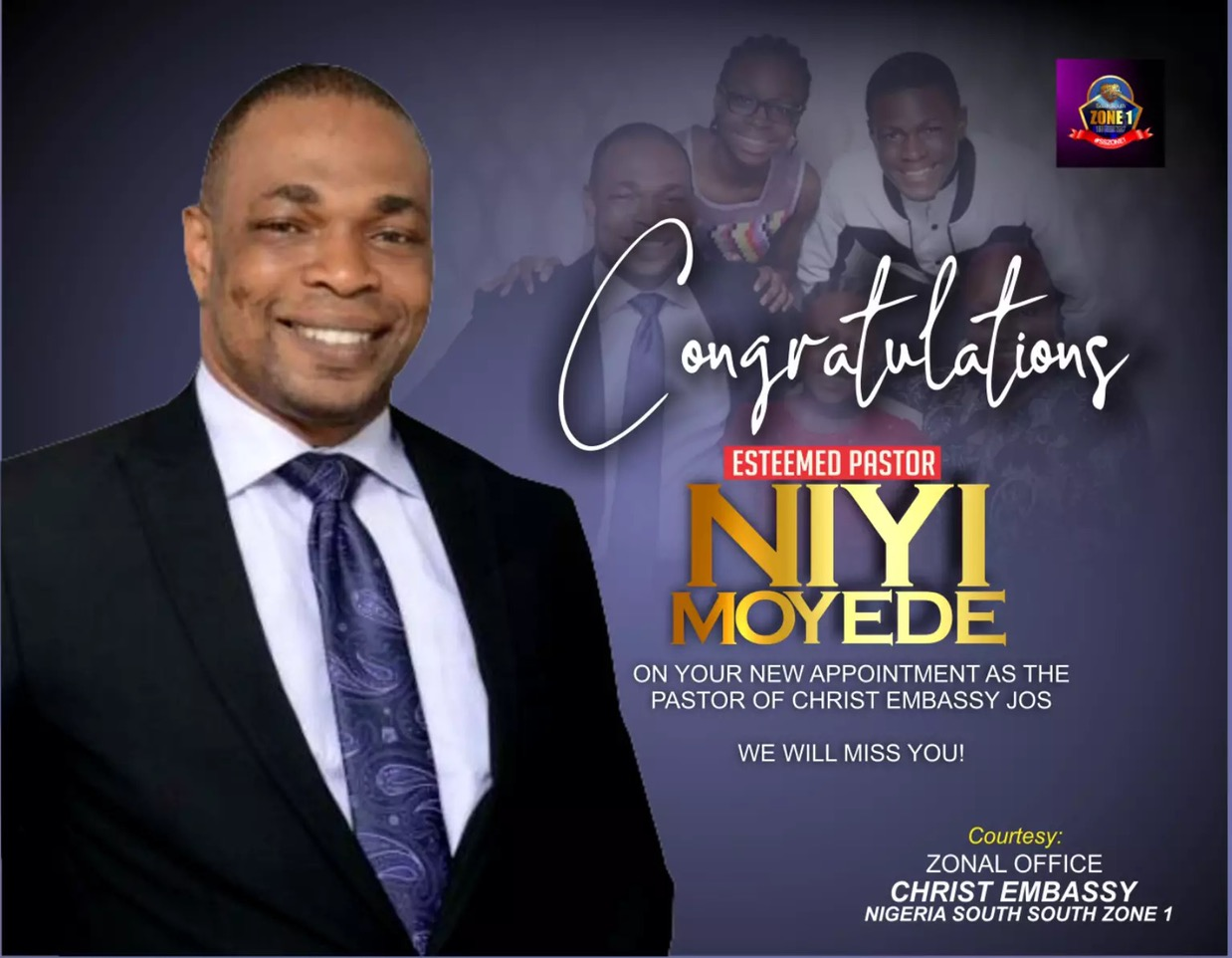 Thank your dear Pastor Niyi