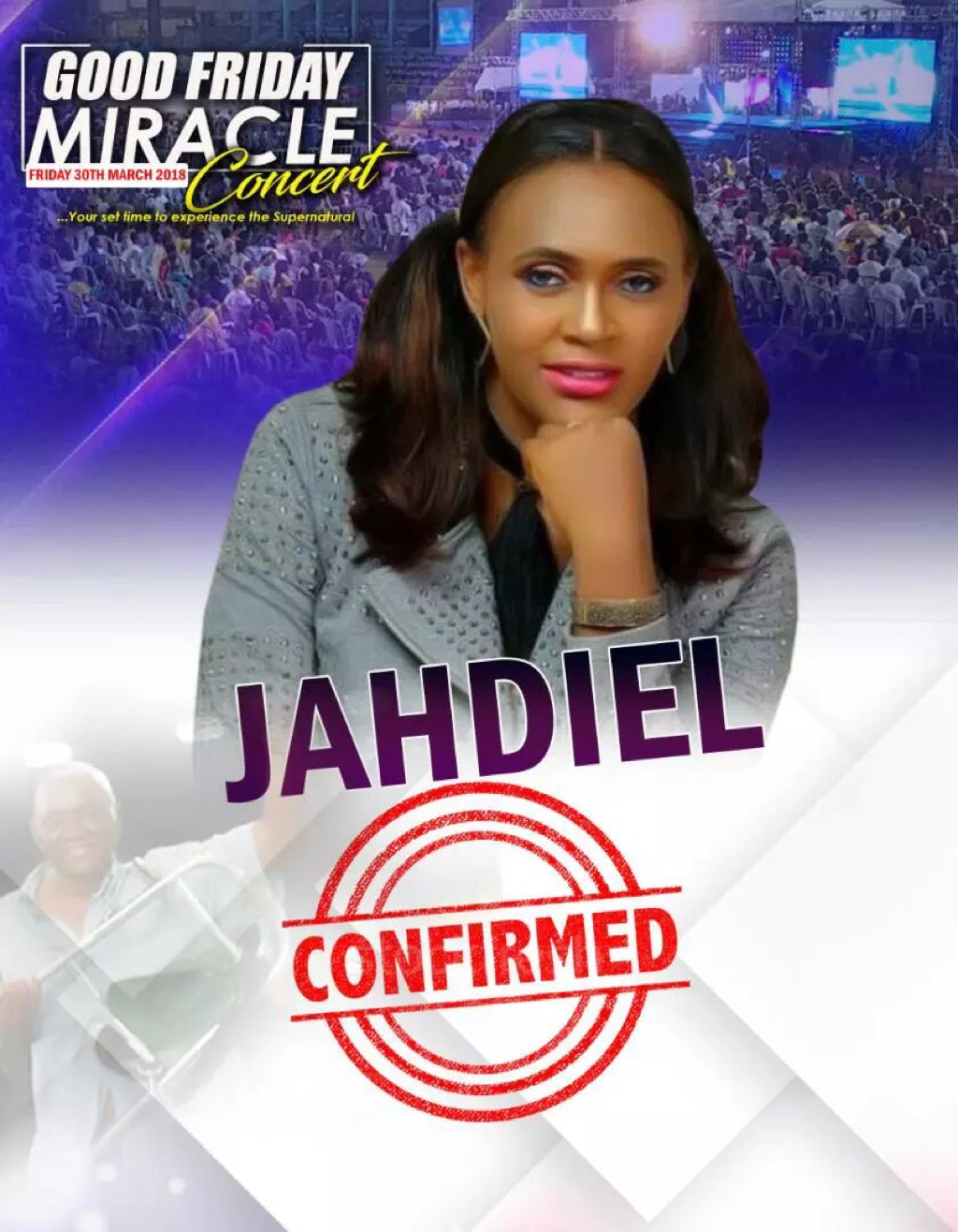 Ministering at the #GFMC2018 Jahdiel