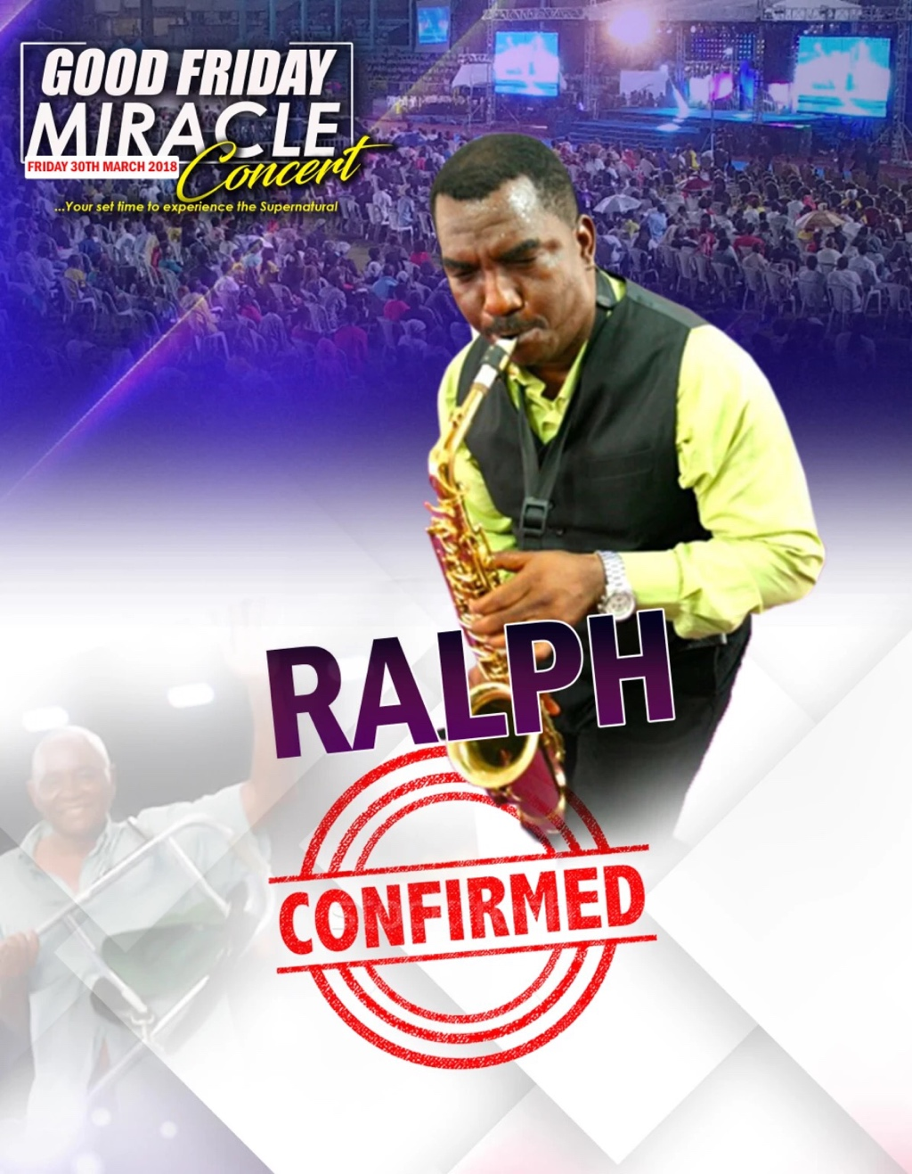 Ministering @ the #GFMC2018 Ralph