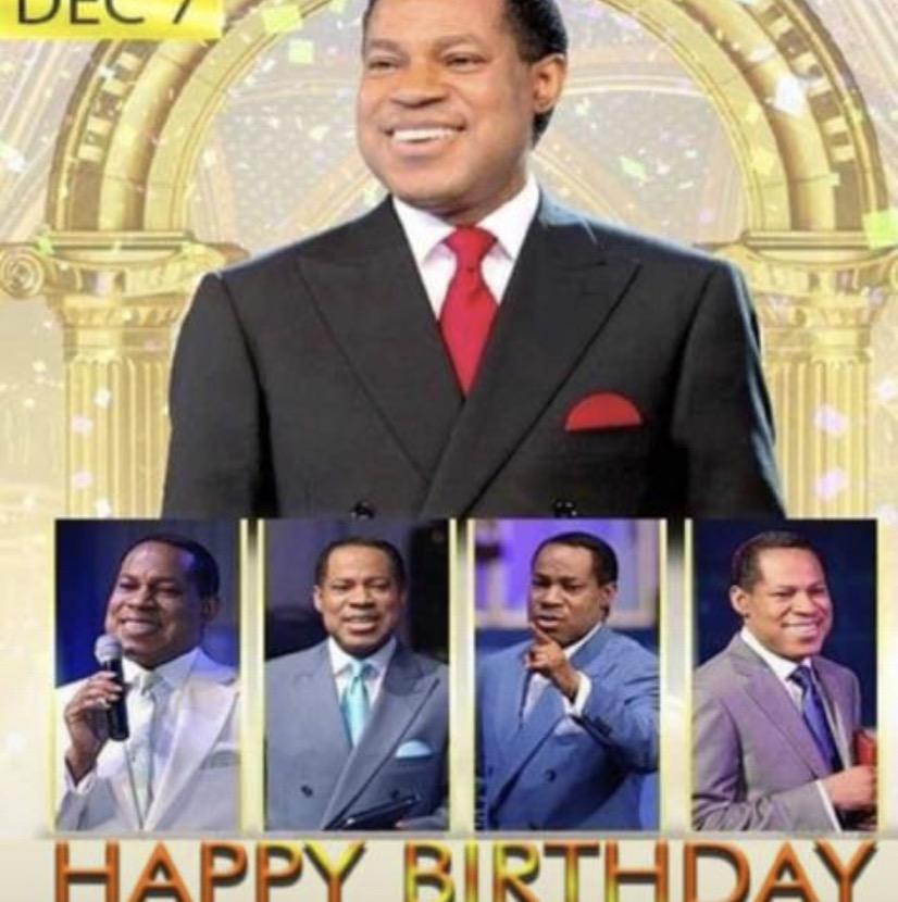 Happy birthday my Pastor. I