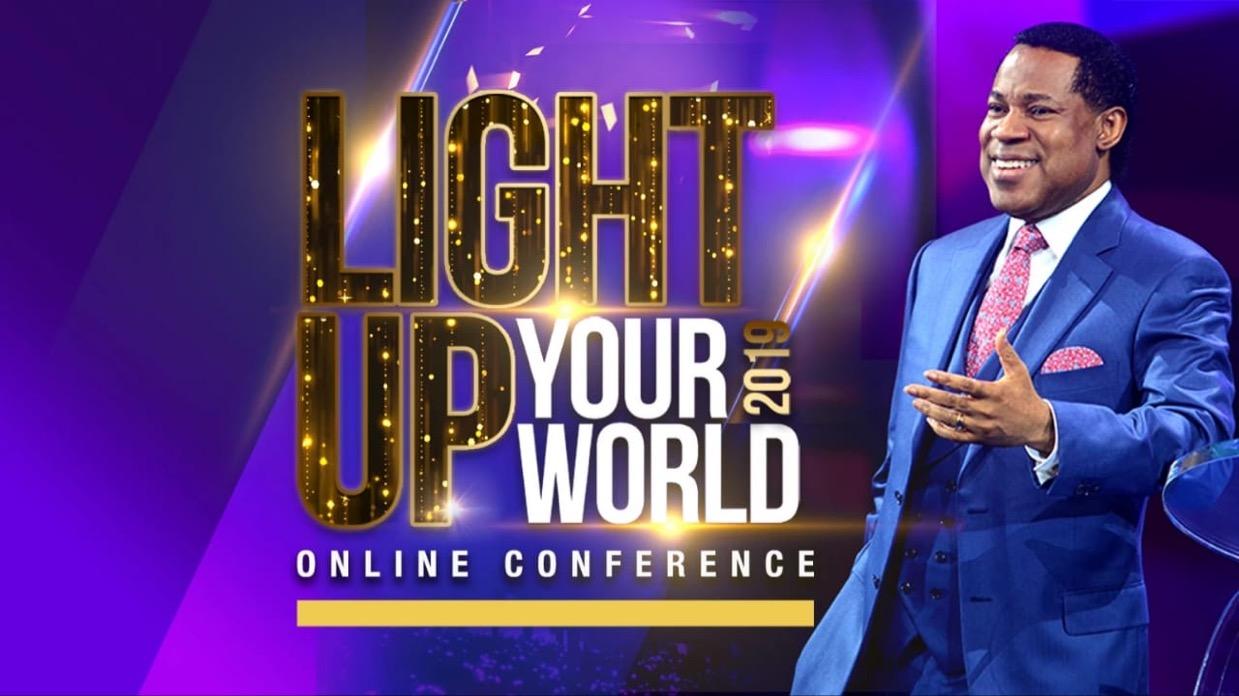 It's the set time #LightUpYourWorld