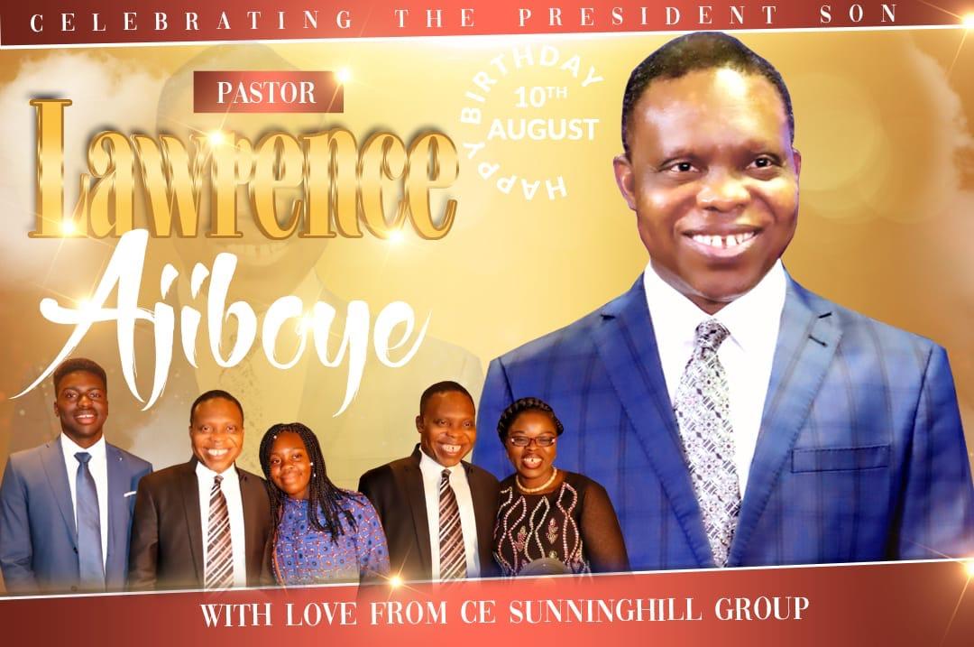 Happy birthday Pastor Sir @pastorlawrencea
