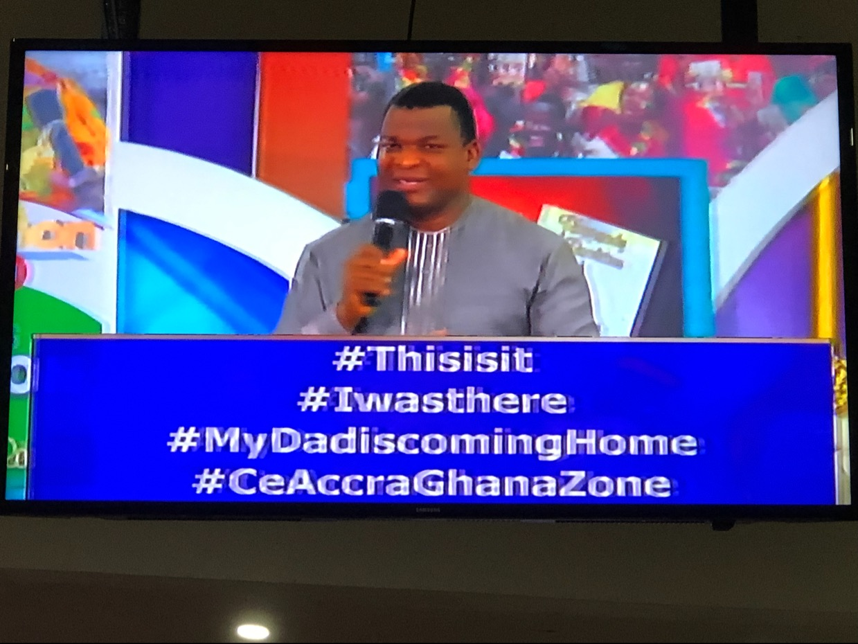 #Thisisit #Iwasthere #MyDadiscomingHome #CeAccraGh