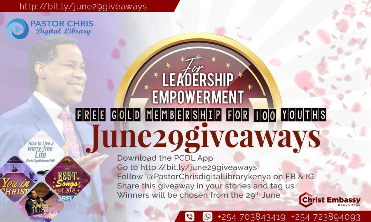 🙌🏻🙌🏻🙌🏻Exciting Give Aways on Pastor