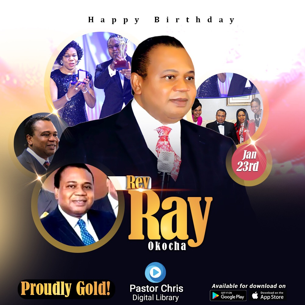 Happy Birthday Esteemed Rev Ray