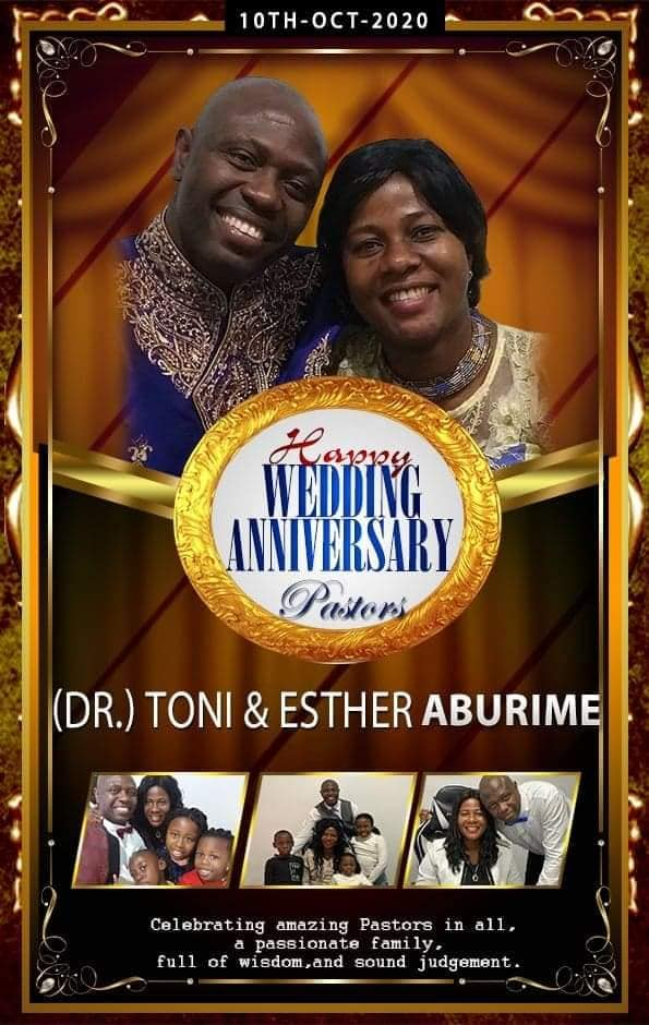 THANK YOU Highly Esteemed Pastor