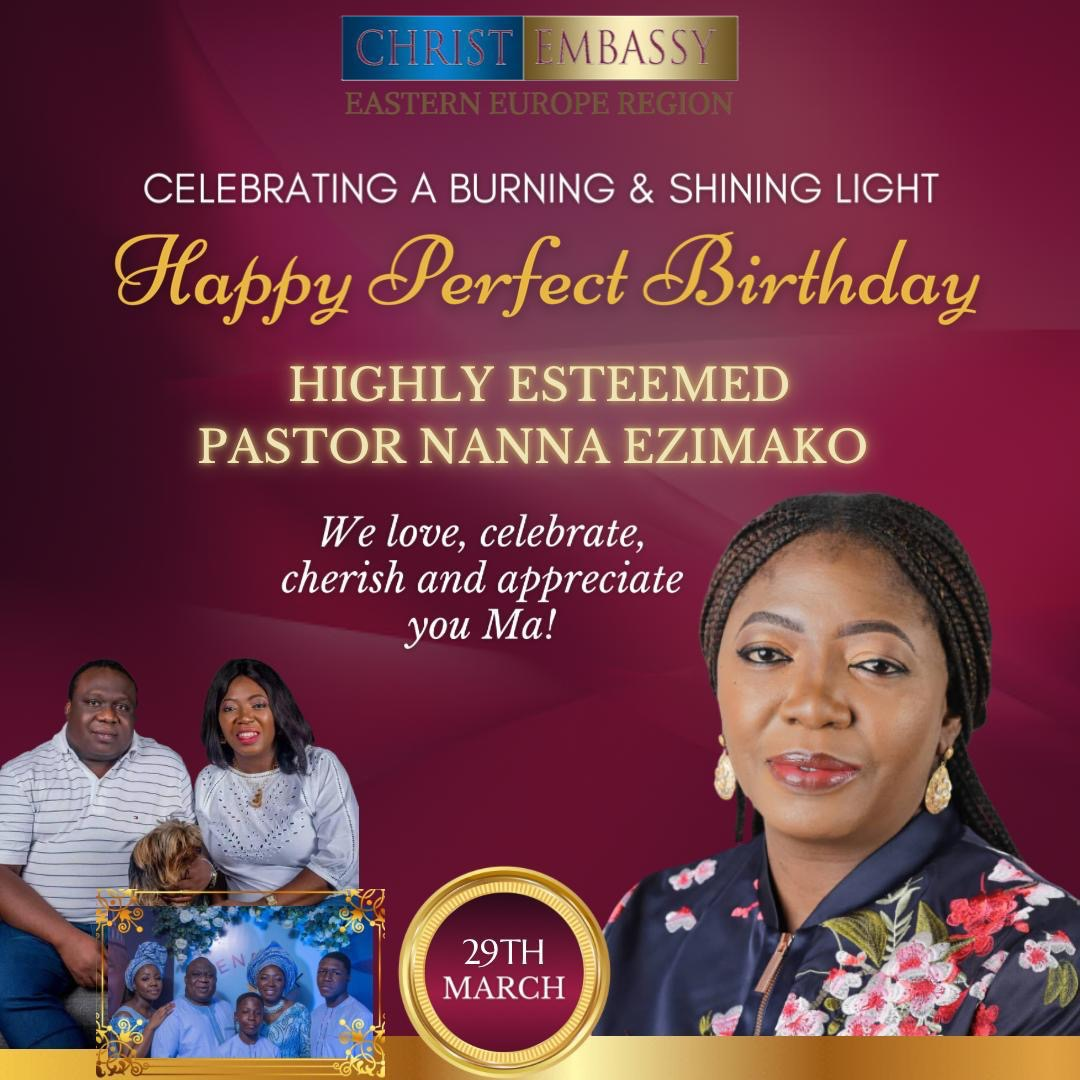 Celebrating Esteemed Pastor Nanna. Thank