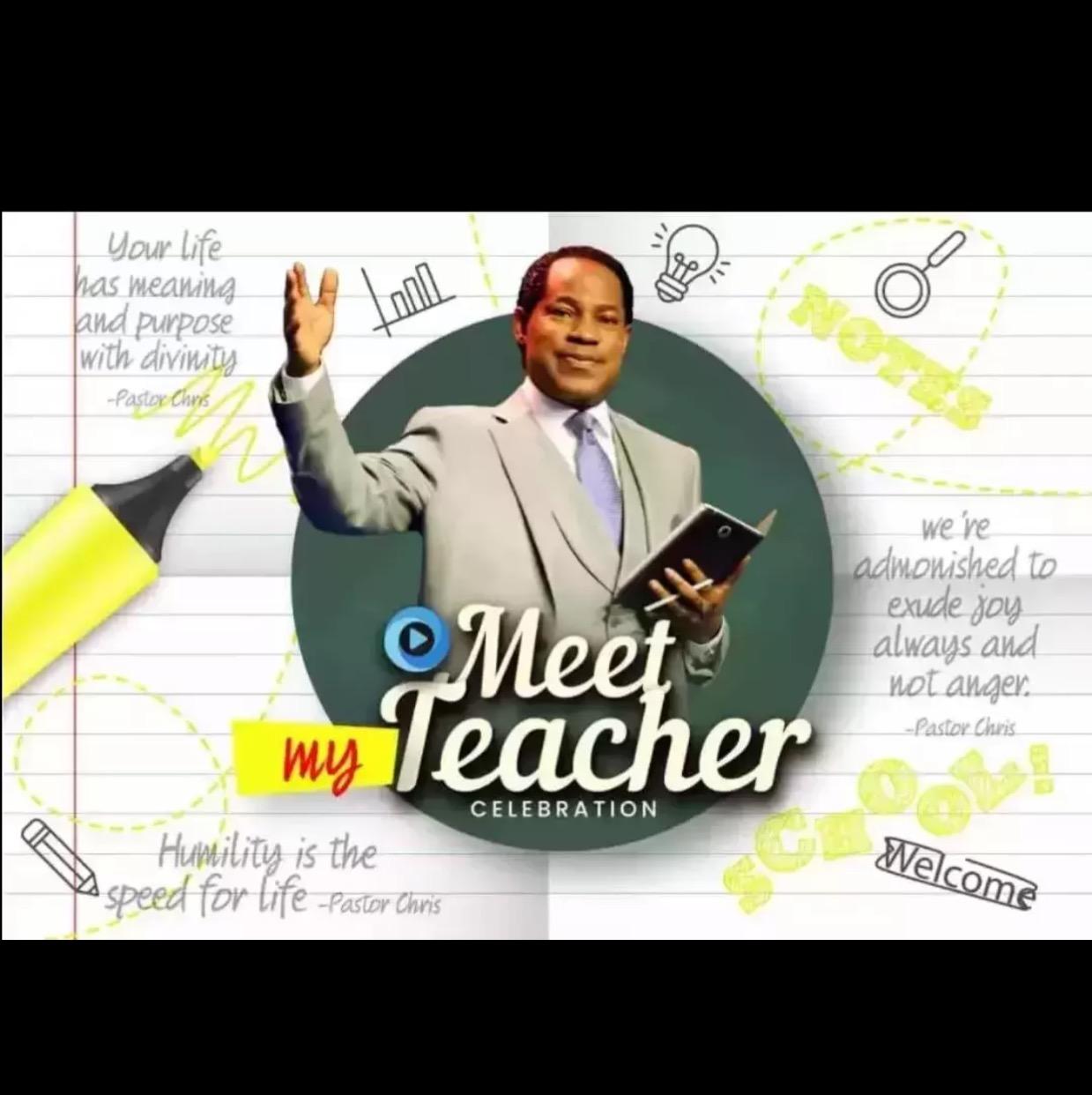 Meet my Super Amazing TEACHER....meet
