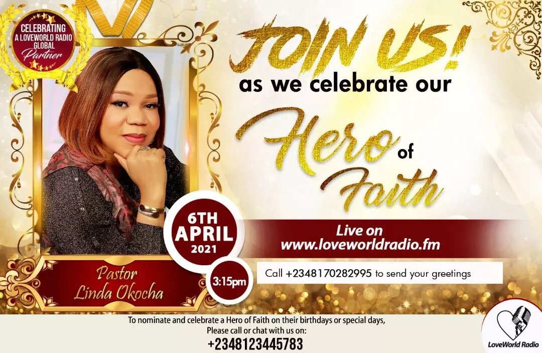 Happy Birthday Esteemed Pastor Ma!