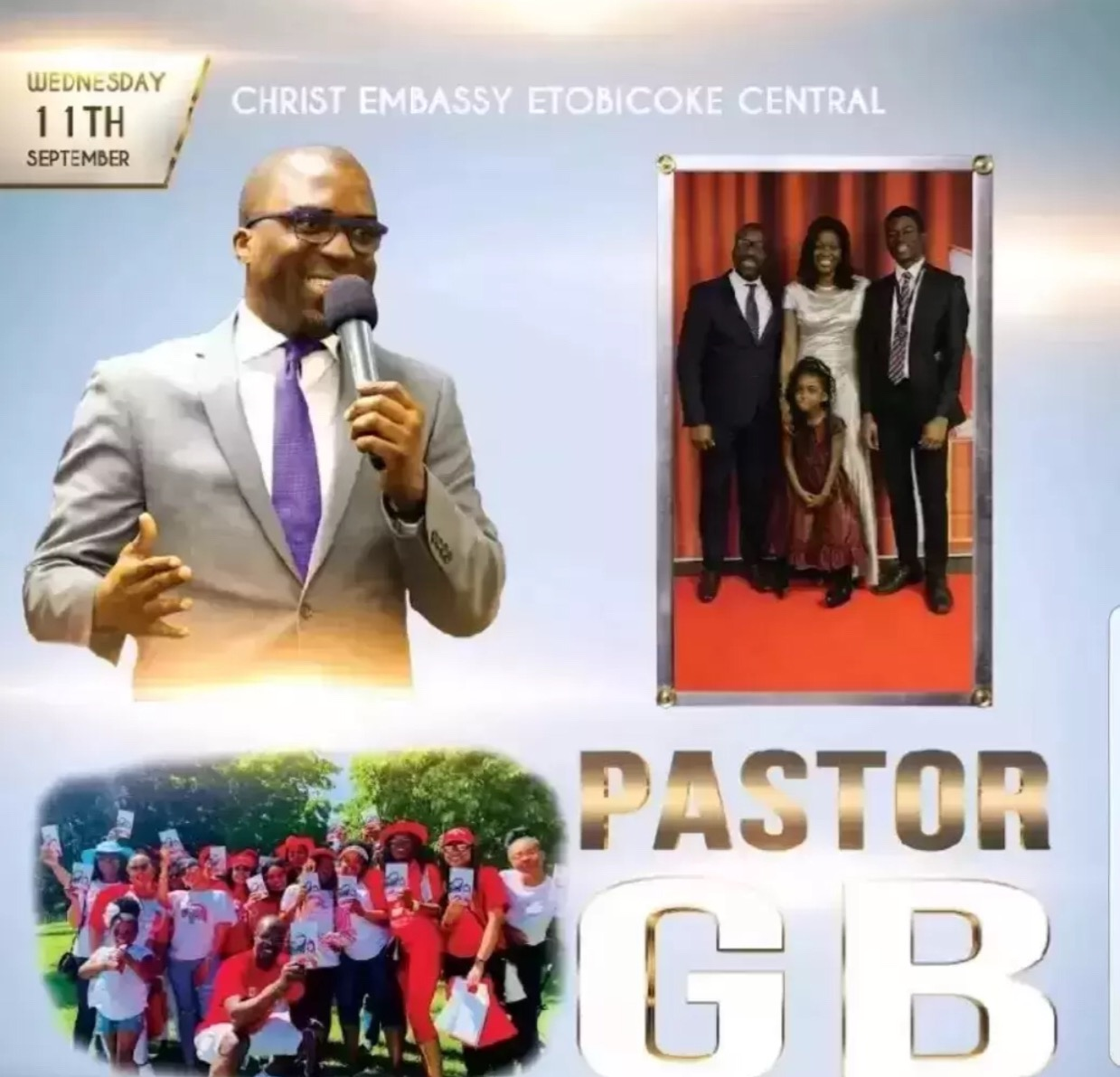 Happy birthday Dear Pastor GB!