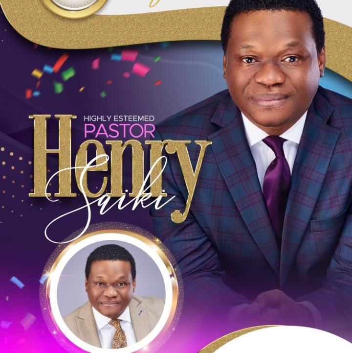 Happy Birthday Esteemed Pastor Henry