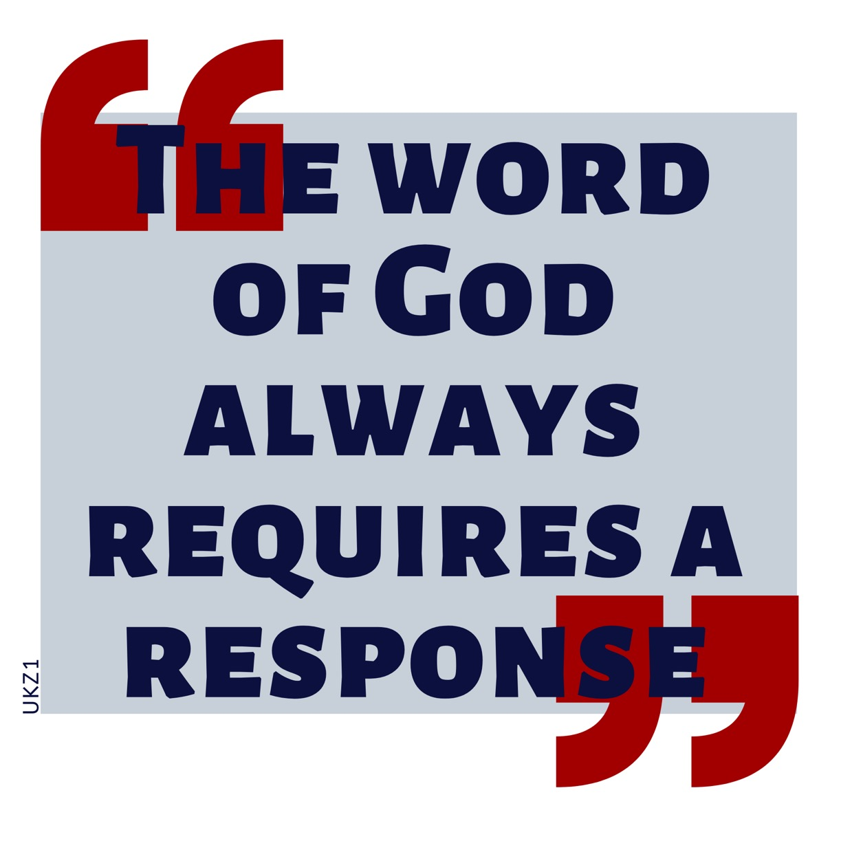 'The Word of God always
