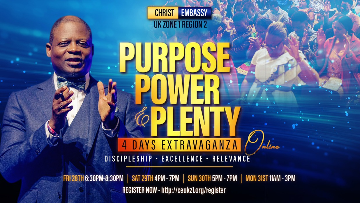 Happening now at the Purpose,