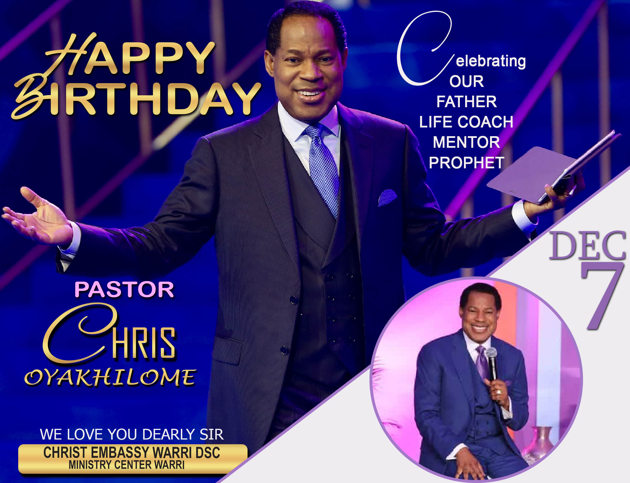 Happy Birthday Daddy #offer7 #dec7
