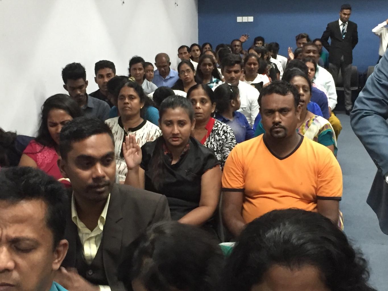 Happening Now@Super Wednesday CE Srilanka.