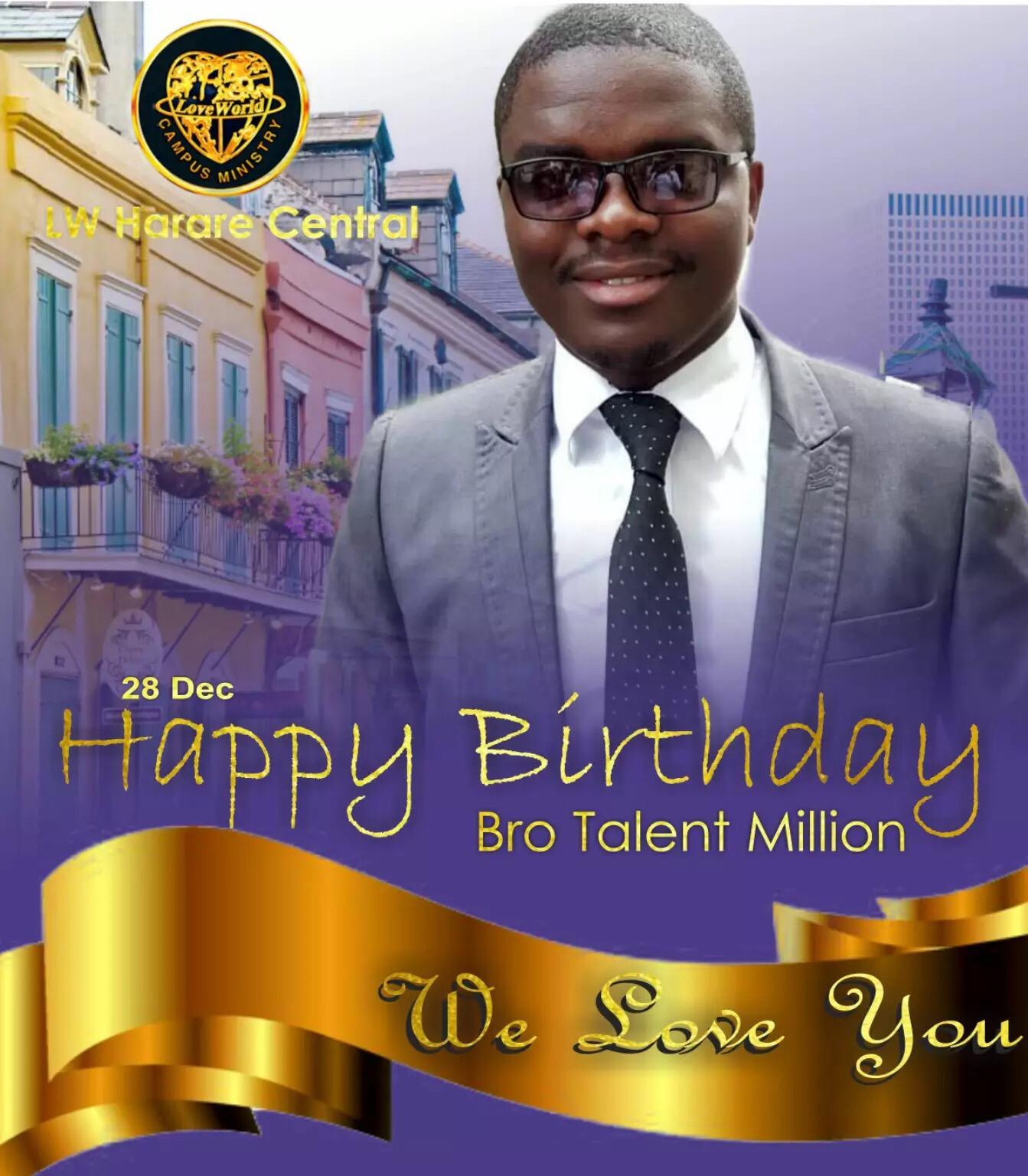 Mr Million- Happiest Birthday to