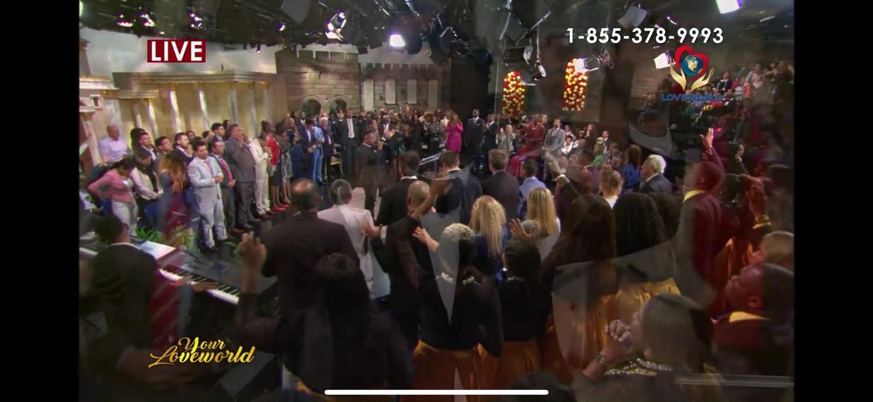 """Happening live!! Eben ministering """"Prince"""