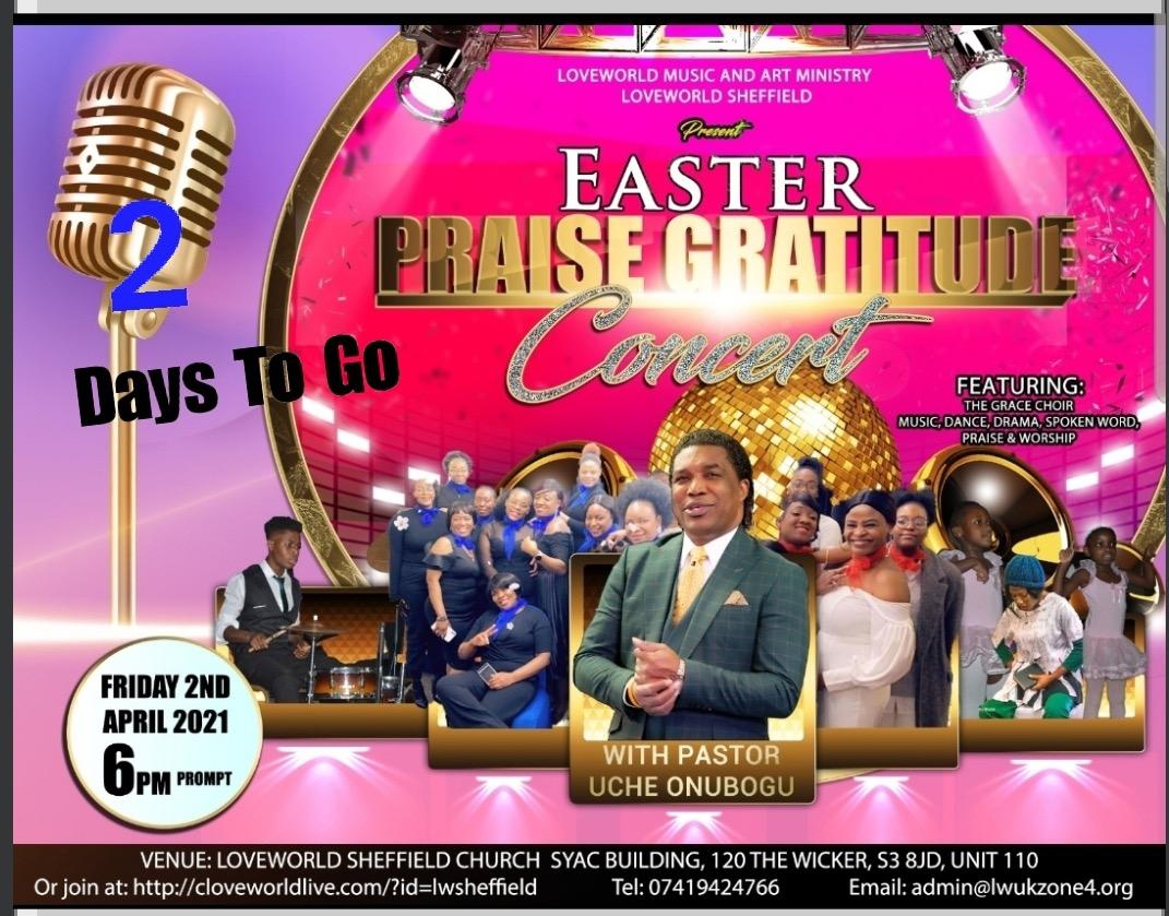 #LWUKZ4 #EasterPraiseGratitudeConcert2021 #LWsheff
