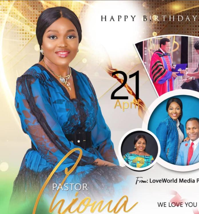Happy birthday esteemed Pastor ma.