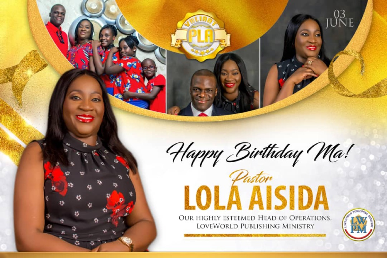 Happy Birthday Dear Esteemed Pastor