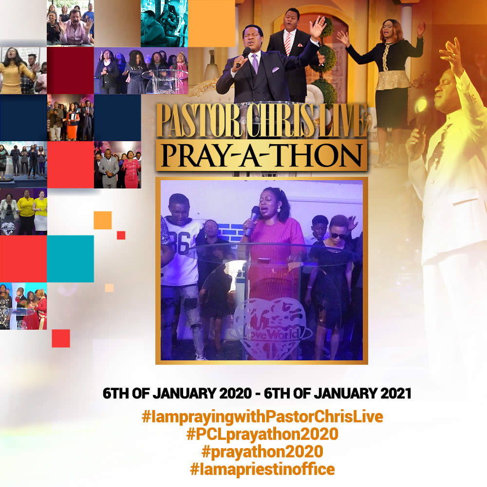 READY TO PRAY #IamPrayingwithPastorChrislive #PCLp